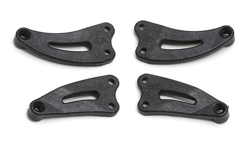 Associated TC3 F/R Chassis Braces AS3879