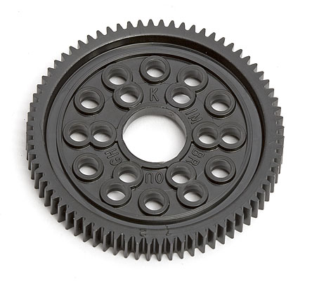 Image Of Associated TC3 72 Tooth Spur Gear