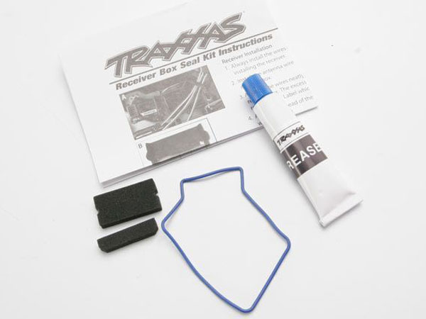 Traxxas Seal Kit, Receiver Box (Includes O-Ring, Seals, And Silicone) 3925