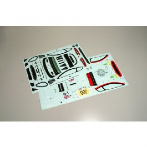 Kyosho Decal Set - Aston Martin DBR9 1/10th 39284-1
