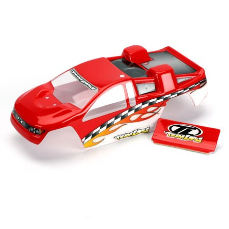 Losi Mini T Painted Body (Red) LOSB1003