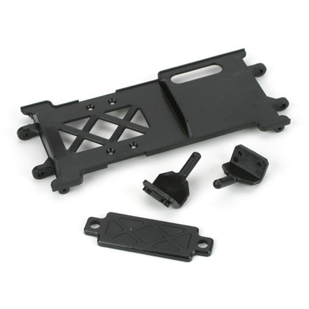 Losi Mini Rock Crawler Radio Plate Battery Mounts  Strap LOSB1415