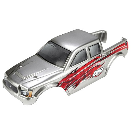 Losi Micro 4x4 Silver Painted Body LOSB1791