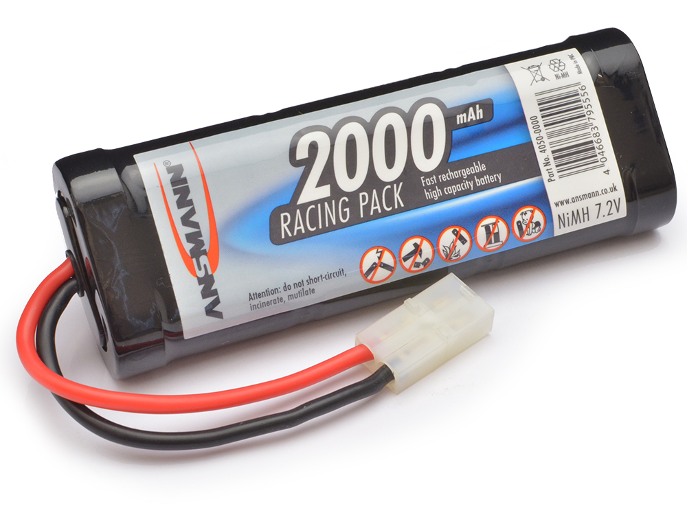 Image Of Ansmann 2000mAh Racing Pack 7.2v