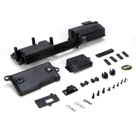 Losi Ten T Radio Tray  Hardware Set LOSB2360