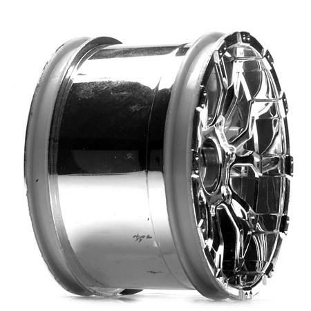 Losi 320S Force Wheel Chrome (2) LOSB7013