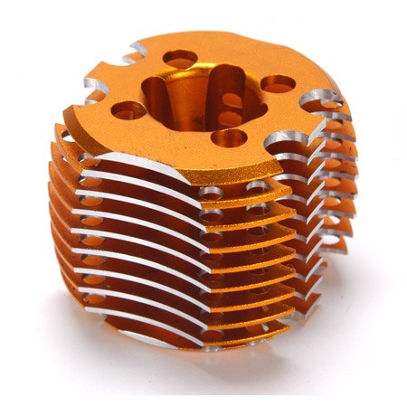 Losi Losi 3.4cc Gold Heat Sink Head LOSR2119