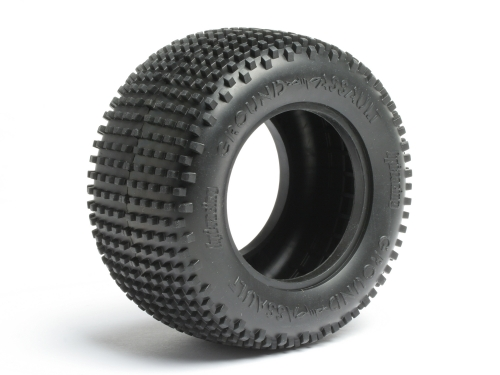 HPI Ground Assault Tire D Compound (2.2in/2pcs) 4410