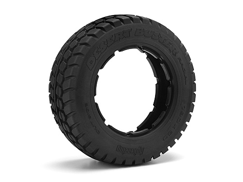 HPI Desert Buster Radial Tire Hd Comp (190x60mm/2pcs) 4437