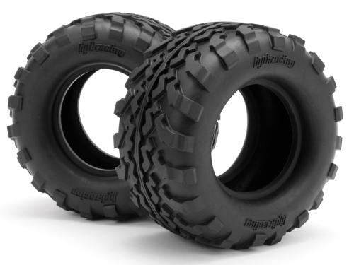 GROUND ASSAULT TIRE D COMPOUND 2.2in//2pcs HPI #4410