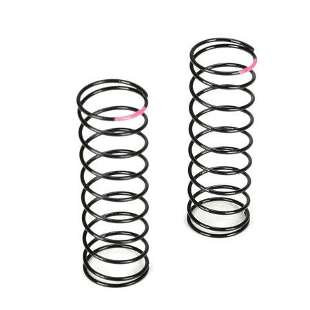 Team Losi Racing 22 Truck Front Shock Spring 2.3 Rate Pink TLR5178
