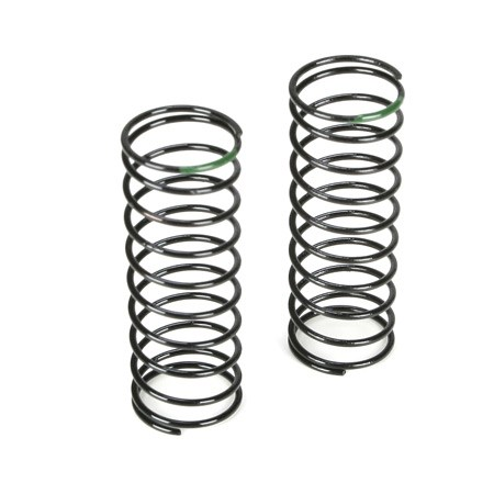 Team Losi Racing 22 Truck Front Shock Spring 3.5 Rate Green TLR5182