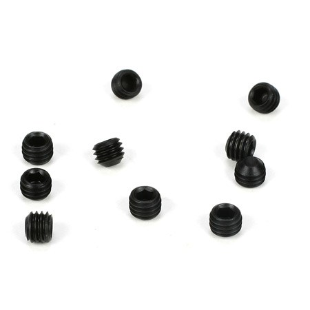 Team Losi Racing Setscrew M5 x 4mm Flat Point (10) TLR6291