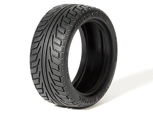 HPI V-groove Super Radial Tire 26mm (2pcs) 4540