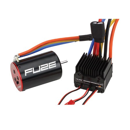 Dynamite Fuze 1/10th Sensored 17.5 ESC & Brushless Motor Combo DYN3781C