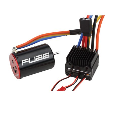 Dynamite Fuze 1/10th Sensored 8.5T ESC & Brushless Motor Combo DYN3783C