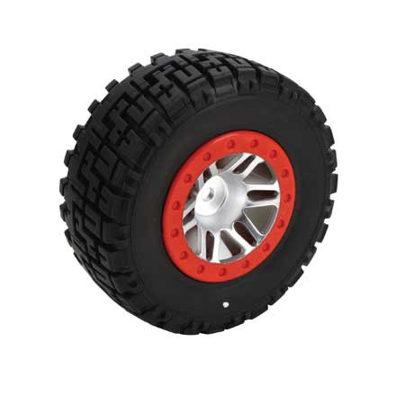 Dynamite Speed Treads Hook Up Short Course Tyres Mounted SLH 4x4 Front and Rear (2) DYN5117
