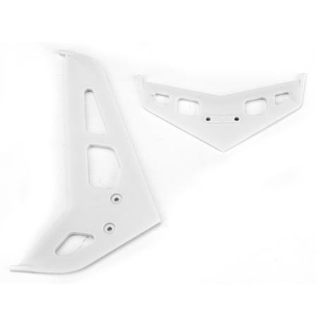 Blade Blade 300X White Stabiliser and Fin Set BLH4530