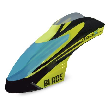 Blade Blade 300X Black Yellow Option Canopy BLH4542A