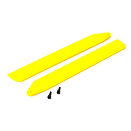 Blade Blade 130X Yellow HiPerformance Main Rotor Blade Set BLH3716YE
