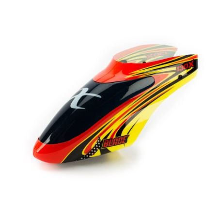 Blade Blade 130X Red/Yellow Option Canopy BLH3722B