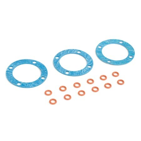 ECX 1/8 Buggy Differential Seal Set ECX0859