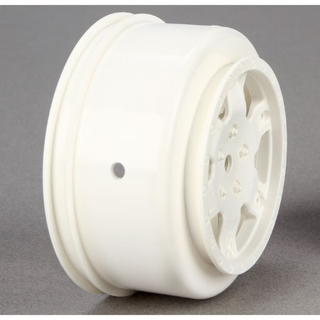 Team Losi Racing 22SCT White Wheel (2) TLR7012