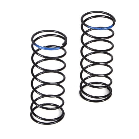 Team Losi Racing 22T Blue Front Shock Spring 3.8 Rate TLR5183