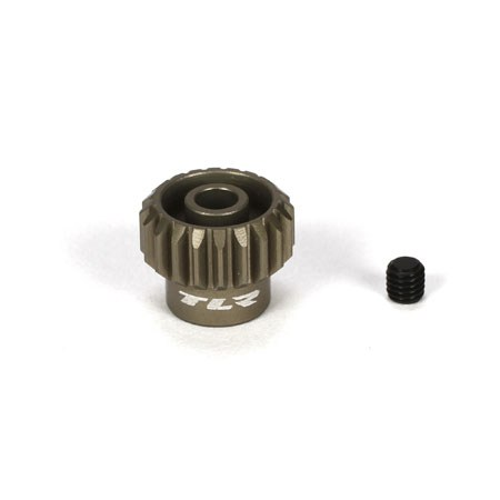 Team Losi Racing Aluminium Pinion Gear 20T 48DP TLR332020