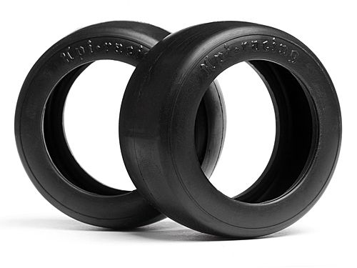 HPI Vintage Slick Racing Tire 31mm D Compound (2pcs) 4792