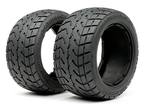 HPI Tarmac Buster Tire M Compound (170x80mm/2pcs) 4840