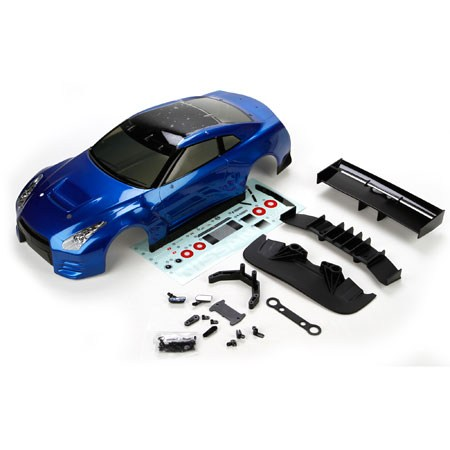 Vaterra 2012 Nissan GTR GT3 Dark Blue Body Set VTR230009