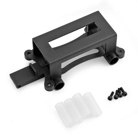 Blade CX4 Battery Tray With Landing Gear Sleeves and Screws BLH2123