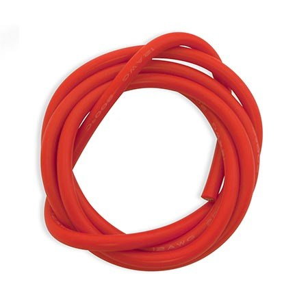 Dynamite Red 3foot 12AWG Silicone Wire DYN8855