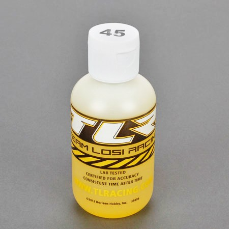 Team Losi Racing Silicone Shock Oil 45 weight 4oz Bottle TLR74026