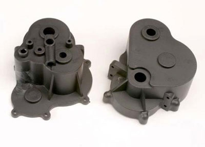 Traxxas Gearbox Halves/Rubber Plg 4991