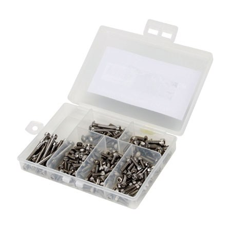 Dynamite Stainless Steel Screw Set - 2mm & 3mm Variety Pack DYNH3000
