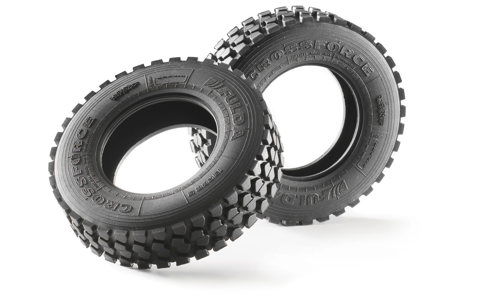 Carson 1:14 Fulda Crossforce Off-road Tires (2)  C907011