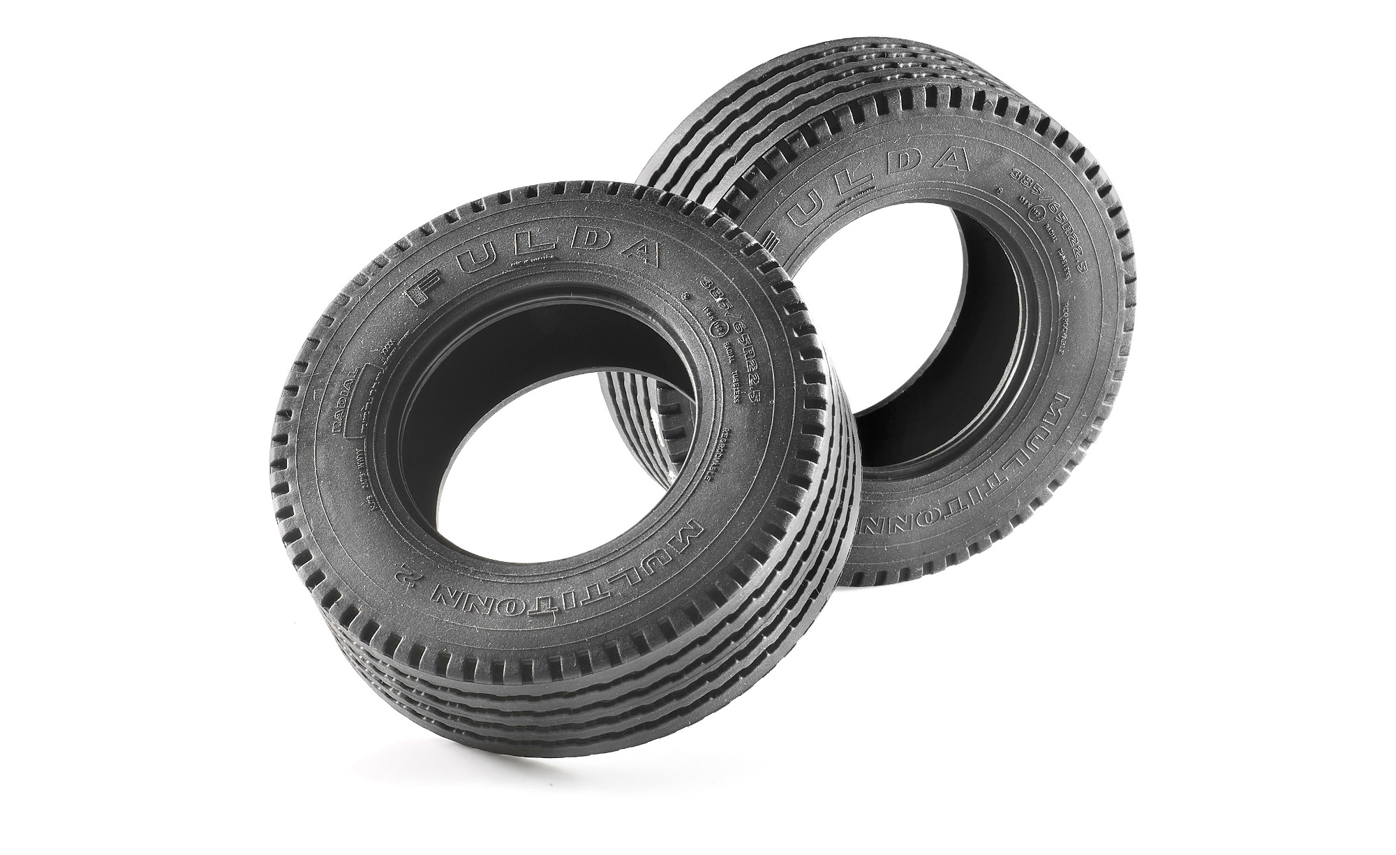 Carson 1:14 Fulda Multitonn 2 Tire Wide (2)   C907012