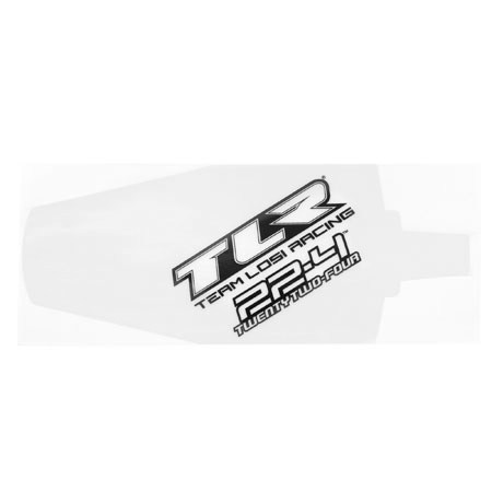 Team Losi Racing TLR 22 4 Chassis Protective Tape Precut (2) TLR331004