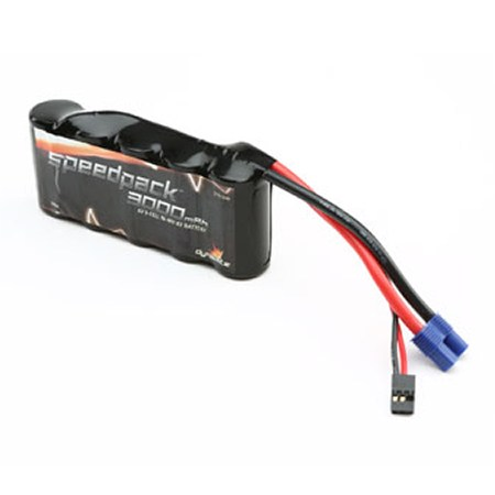 Dynamite 5ive-T Speedpack 6volt 3000mAh NiMh 5C Flat Receiver Pack DYN1444