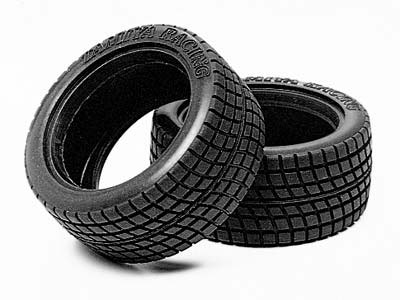 Tamiya Mini Cooper Racing Radial Tyre Set (2) 50568