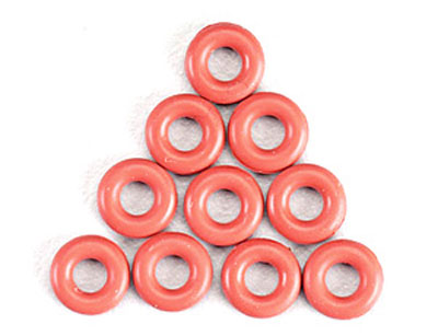 Tamiya Damper O-ring Red x 10 50597
