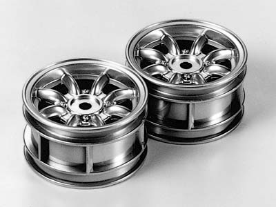 Tamiya Rover Mini Cooper 94 Monte Carlo Plated Wheels 50676