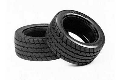 Tamiya M-Chassis 60D Radial Tyre Set (2) 50683