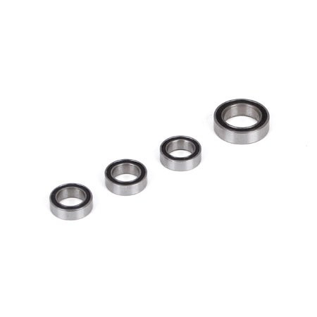 Team Losi Racing 22 4 Steering Bearing Set (4) TLR237002