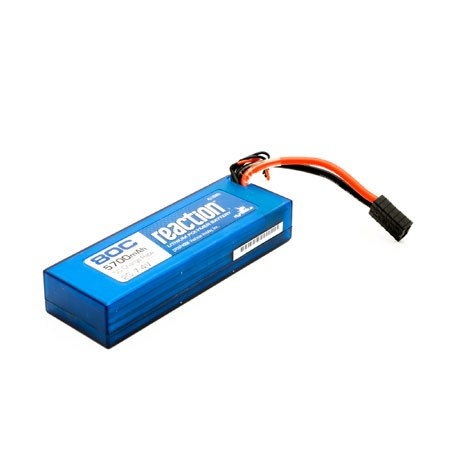Dynamite Hardcase 2S 7.4volt 5700mAh 80C LiPo Battery with Traxxas Connector DYNP4008T