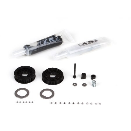 Team Losi Racing 22 4 Diff Service Kit with Tungsten Balls TLR232026