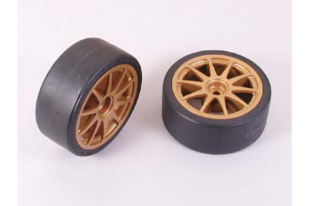 Tamiya Drift Tyres Type-A & Wheels 51219