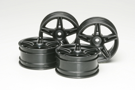 Tamiya Ferrari Fxx Wheels X 4  (Clear) 51263